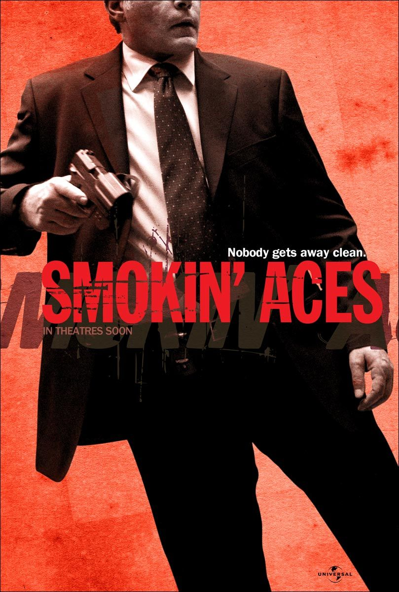 "poster for ""Smokin' Aces"" by Joe Carnahan(2007)"