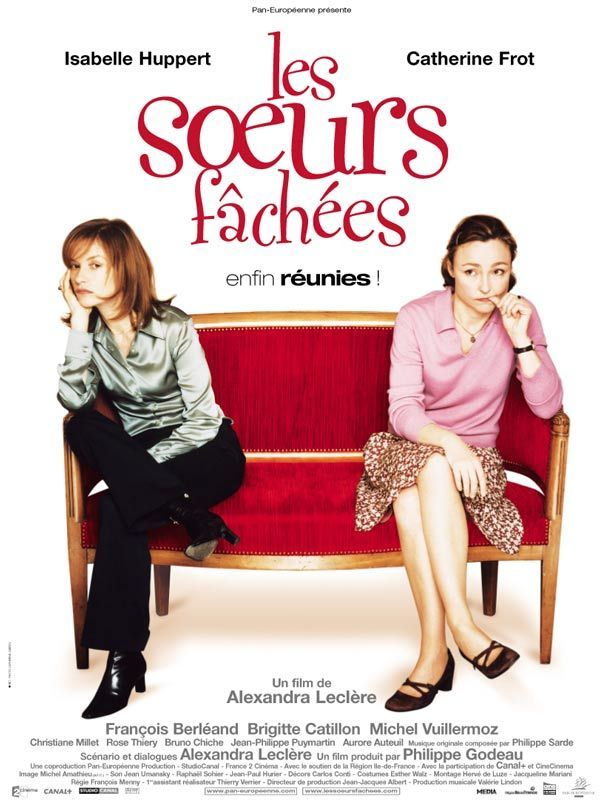"poster for ""Soeurs f�ch�es, Les"" by Alexandra Lecl�re (2004)"