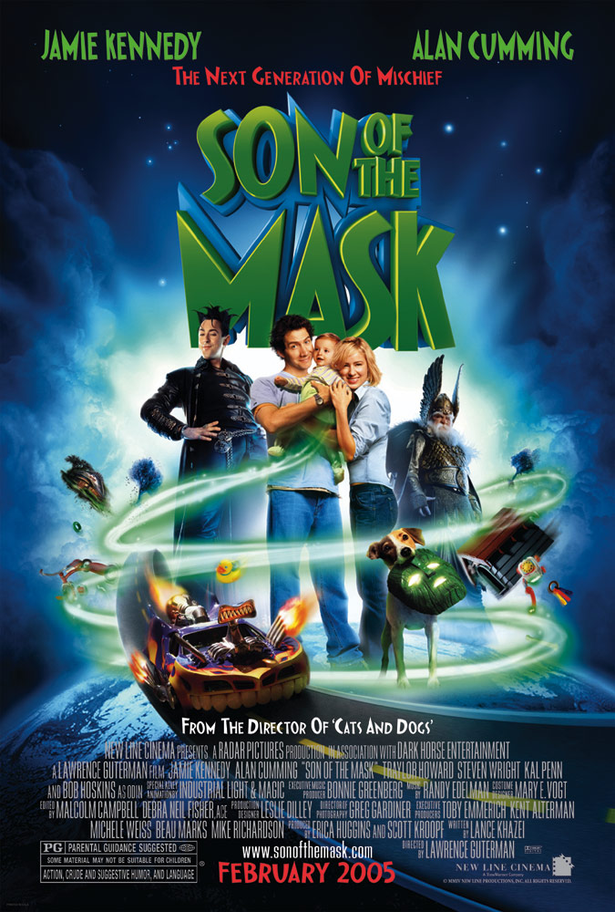 "poster for ""Son of the Mask"" by Lawrence Guterman(2005)"