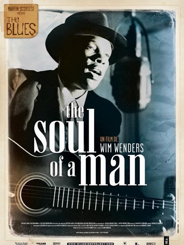 "poster for ""Soul of a Man, The"" by Wim Wenders(2003)"