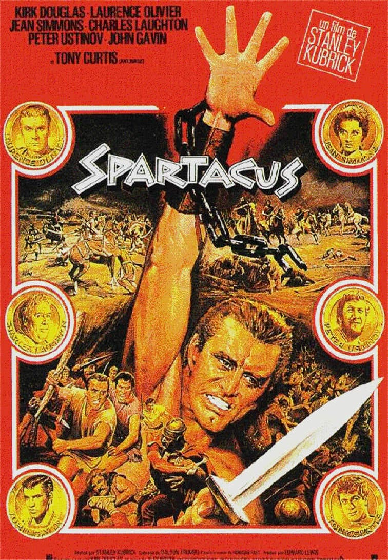 spartacus and full metal jacket movie Full metal jacket (1987) was stanley kubrick's eleventh film (twelfth if you count  spartacus (1960)) and his last film to depict war and the military  thus, as with  many of his other films, kubrick was always rewriting while shooting and the film .