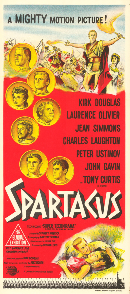 "poster for ""Spartacus&quot"