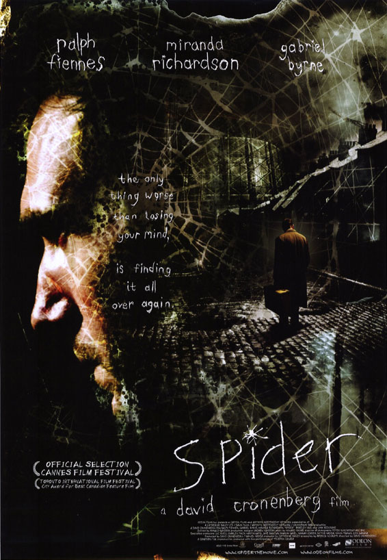 "poster for ""Spider"" by David Cronenberg(2002)"