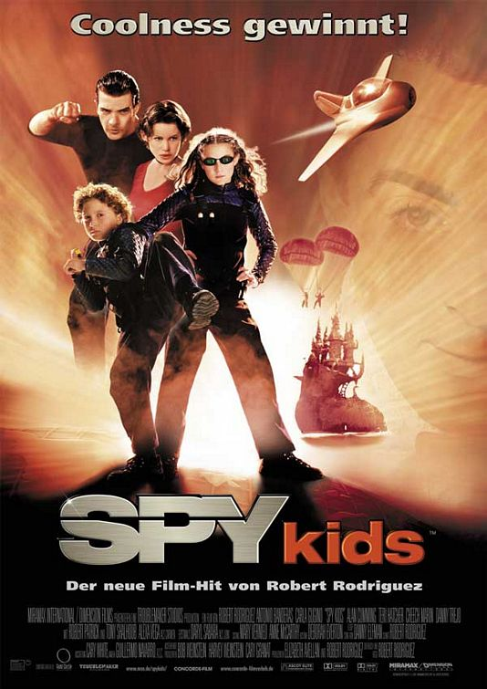 "poster for ""Spy Kids&quot"
