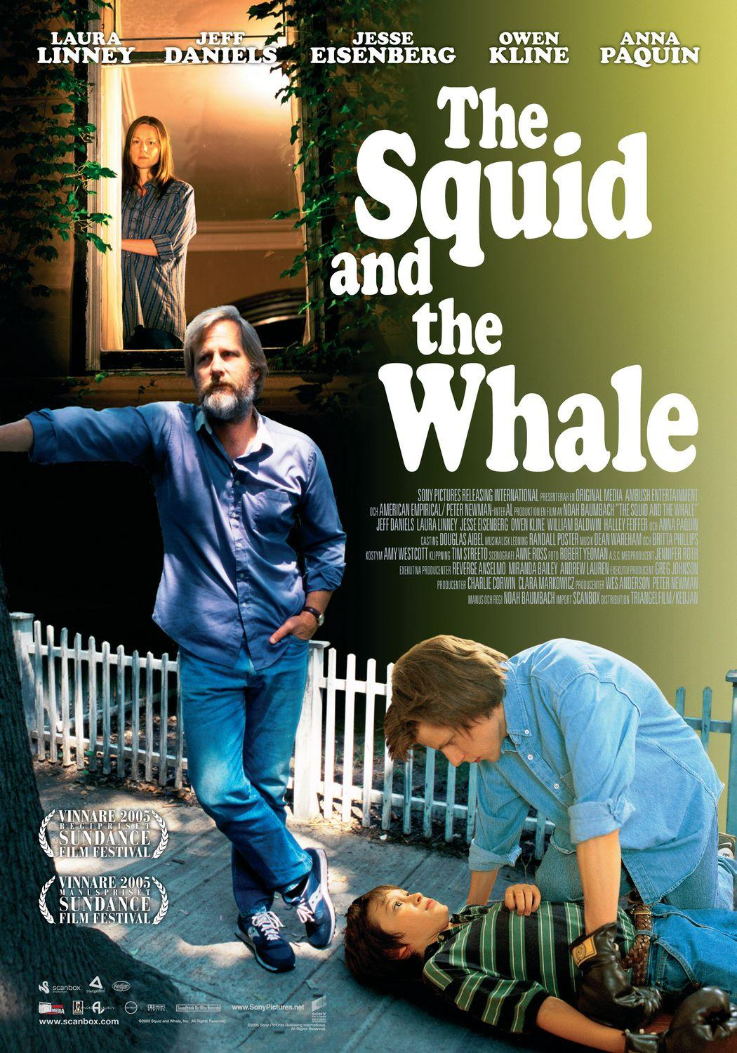 "poster for ""Squid And The Whale, The&quot"
