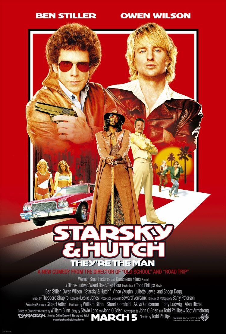 "poster for ""Starsky And Hutch"" by Todd Phillips (2004)"