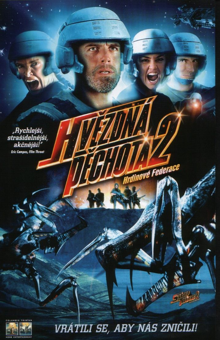 "poster for ""Starship Troopers 2 - Hero of the Federation"""