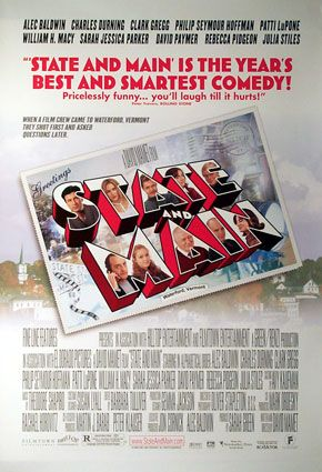 "poster for ""State and Main&quot"