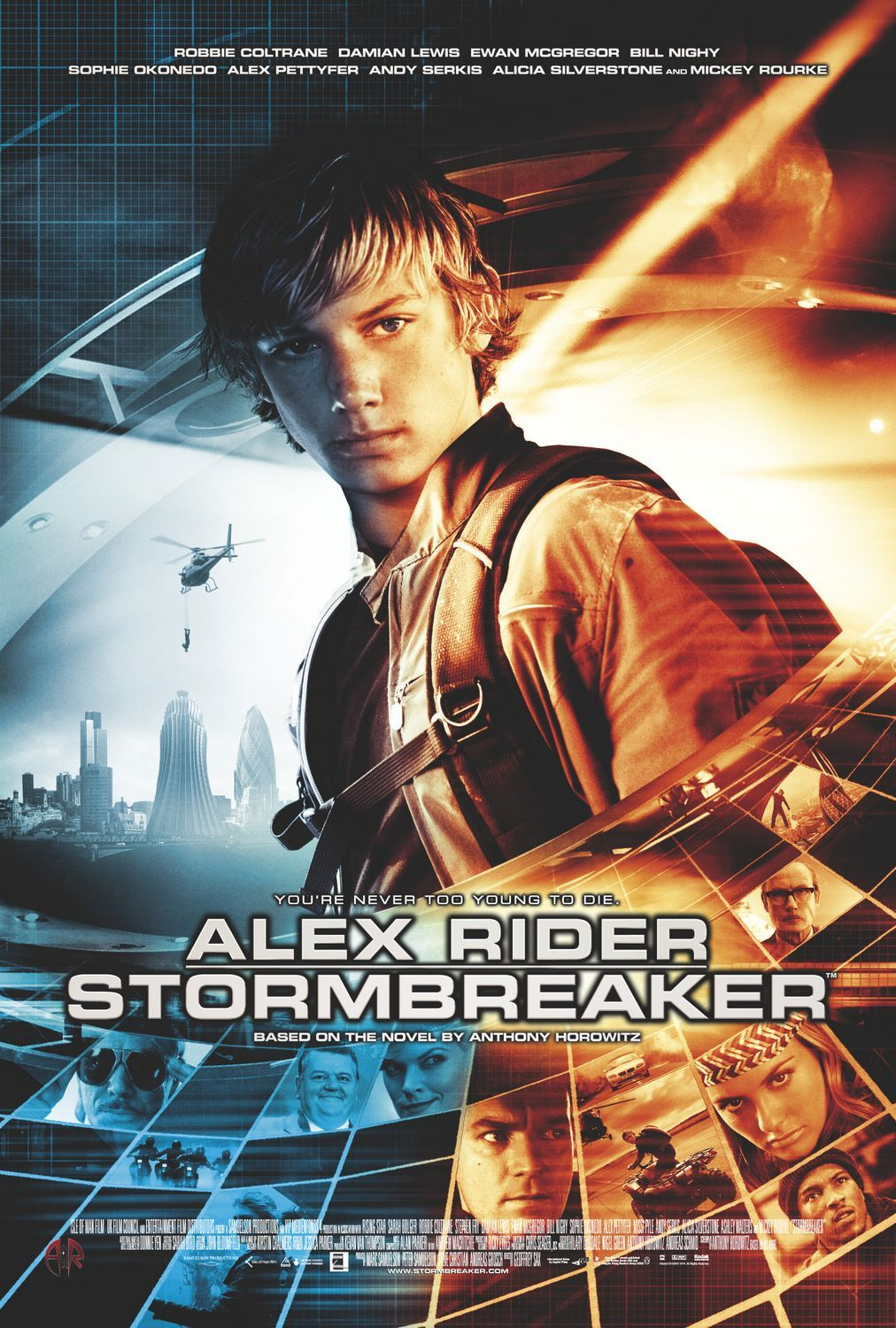 "poster for ""Stormbreaker"" by Geoffrey Sax (2006)"