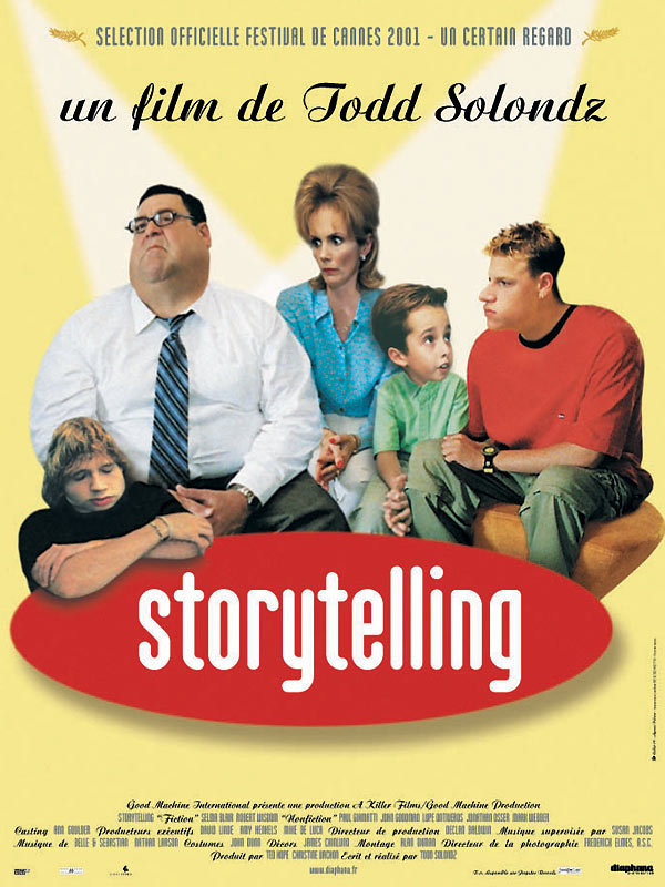 "poster for ""Storytelling"" by Todd Solondz (2001)"