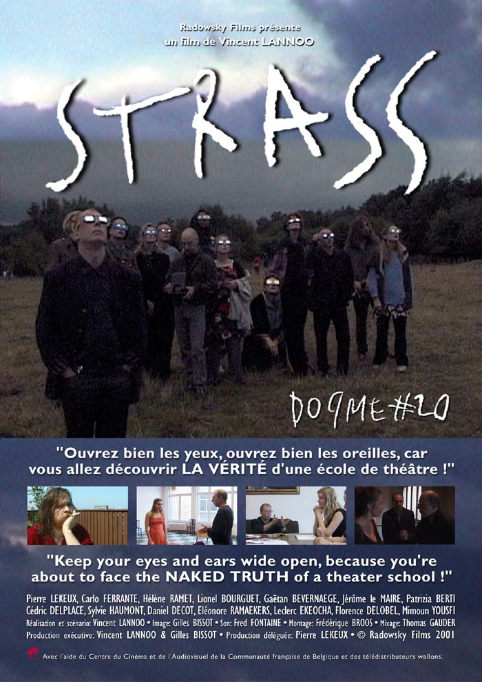 "poster for ""Strass"" by Vincent Lannoo(2001)"