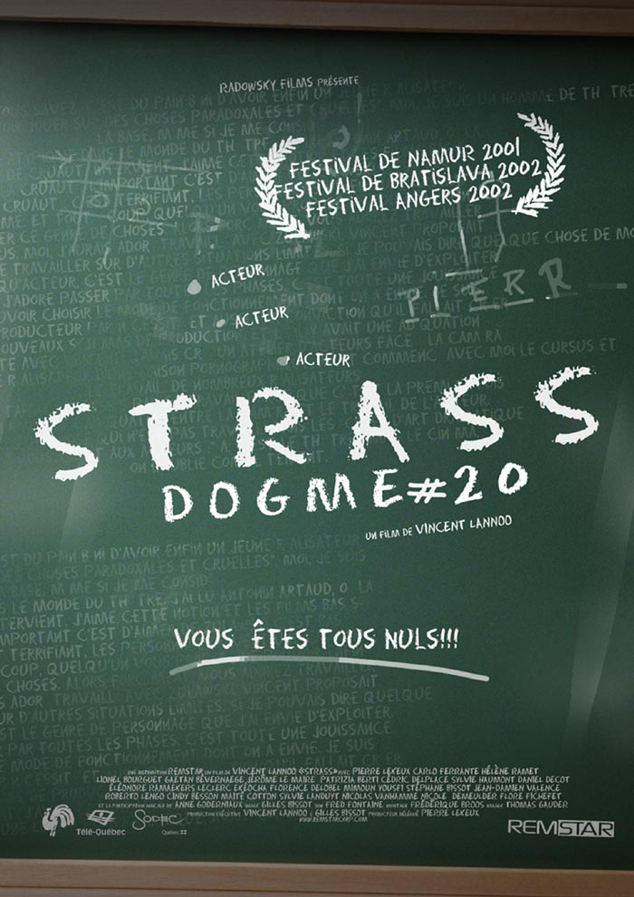 "poster for ""Strass&quot"