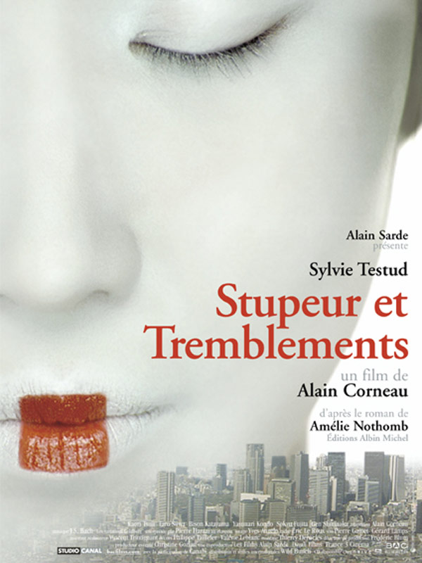 "poster for ""Stupeur et Tremblements"" by Alain Corneau(2003)"