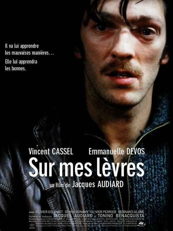"poster for ""Sur Mes L�vres"" by Jacques Audiard(2001)"