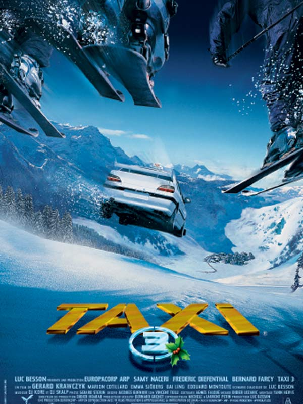 "poster for ""Taxi 3"" by G�rard Krawczyk (2003)"