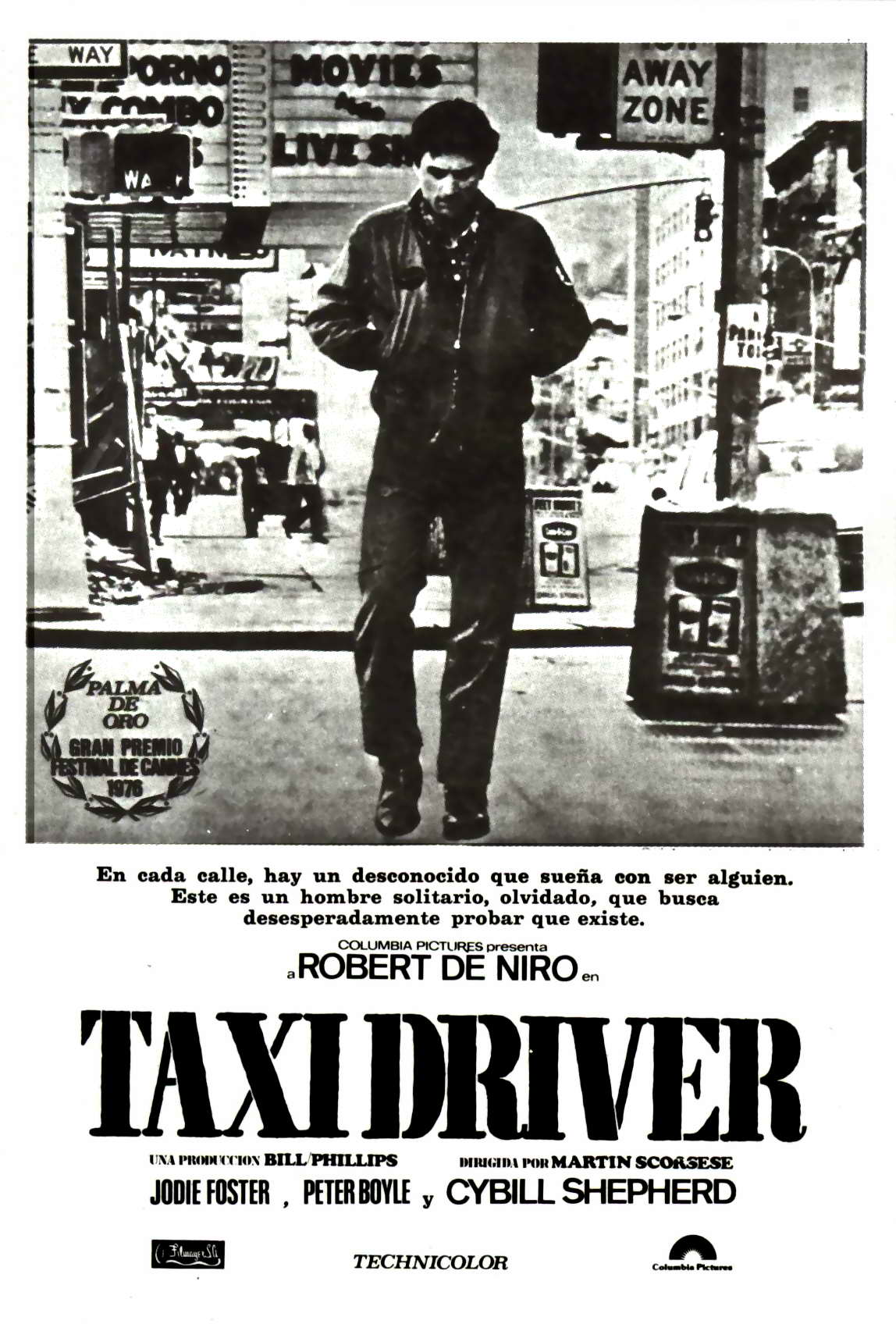 "poster for ""Taxi Driver&quot"