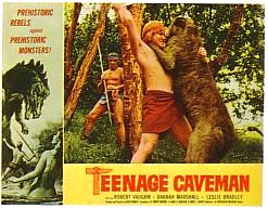 "poster for ""Teenage Caveman&quot"