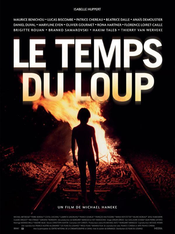 "poster for ""Temps du Loup, Le"" by Michael Haneke (2003)"