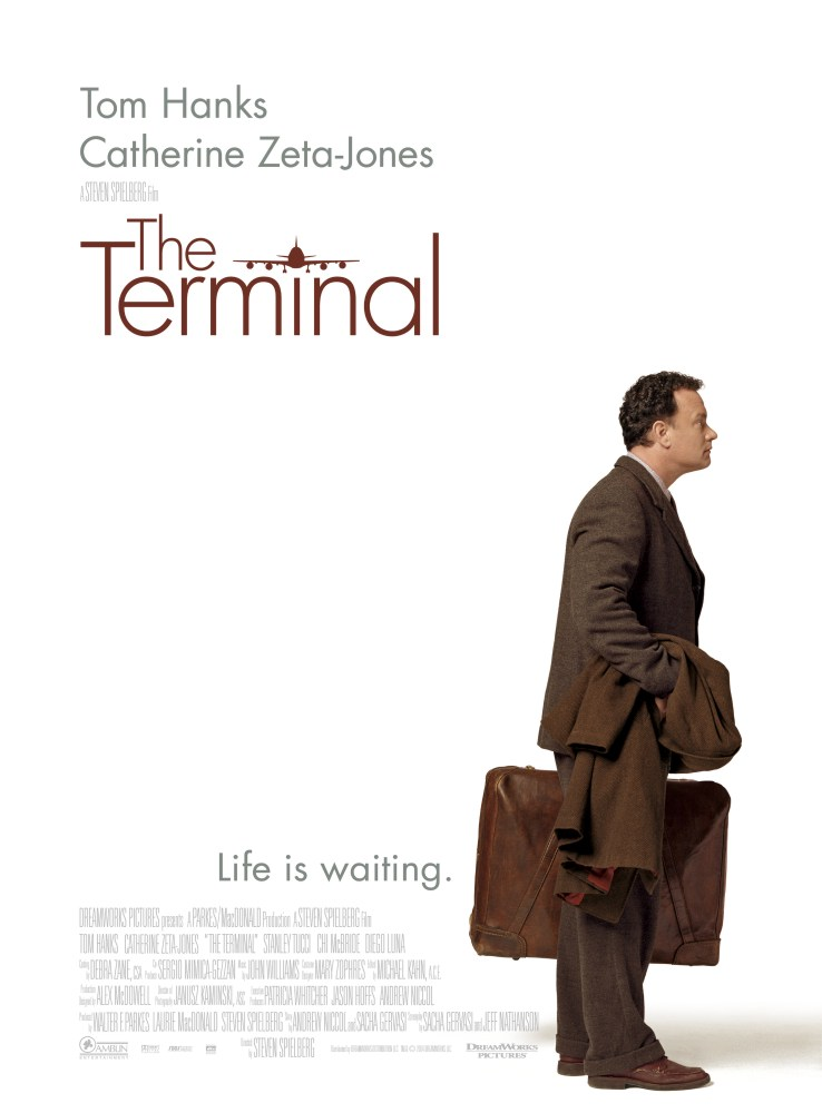 "poster for ""Terminal, The"" by Steven Spielberg(2004)"