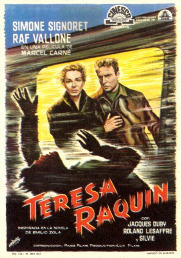 "poster for ""Th�r�se Raquin&quot"