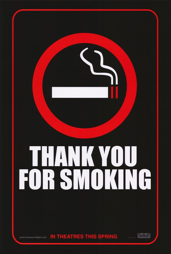 "poster for ""Thank You For Smoking&quot"