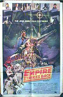 "poster for ""Star Wars: Episode V - The Empire Strikes Back&quot"