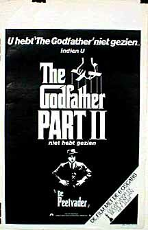 "poster for ""Godfather: Part II, The&quot"