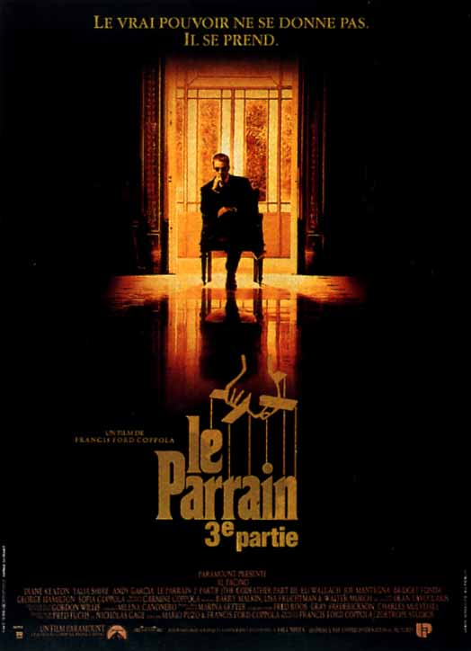 "poster for ""Godfather: Part III, The&quot"