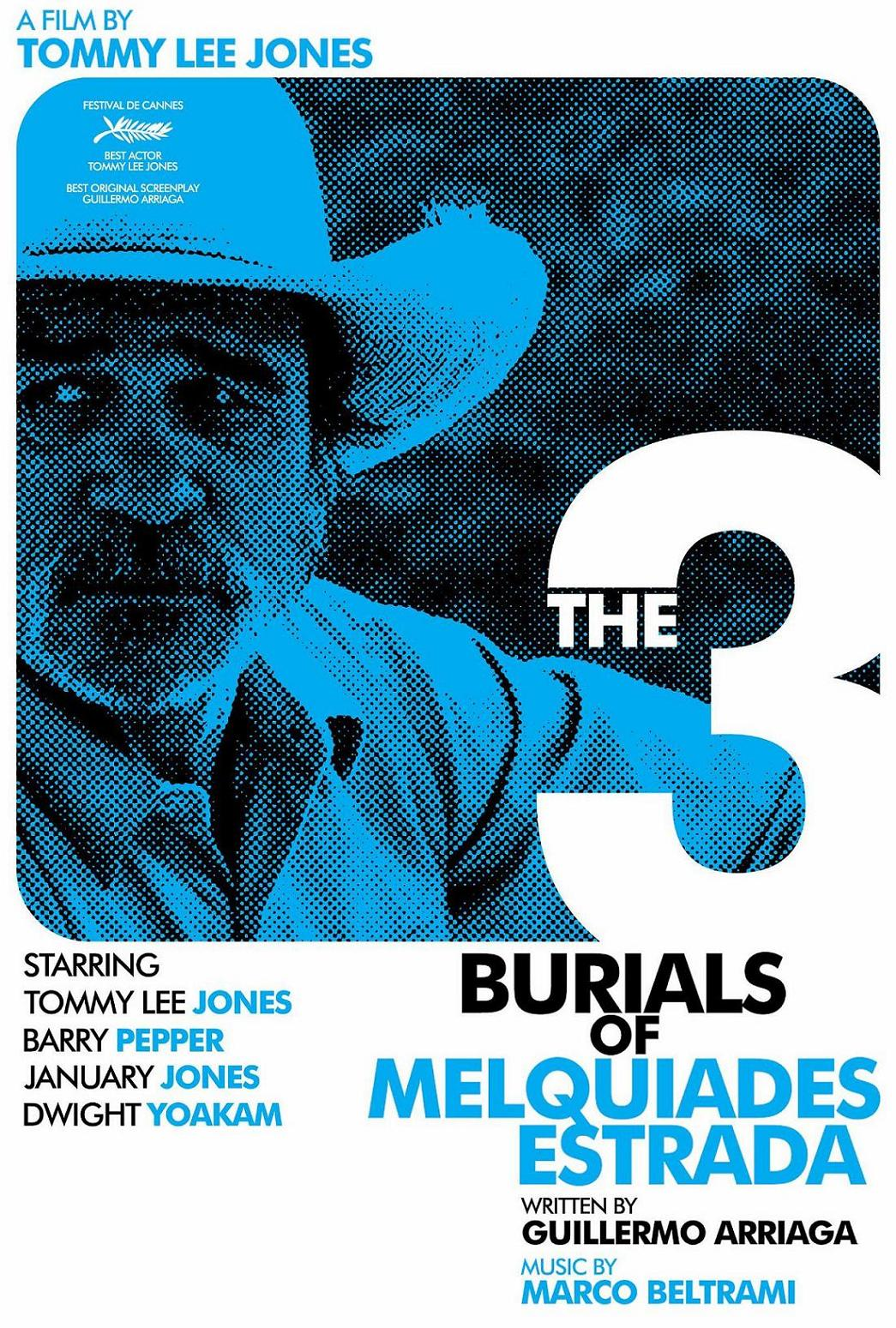 "poster for ""Three Burials of Melquiades Estrada, The"" by Tommy Lee Jones (2005)"