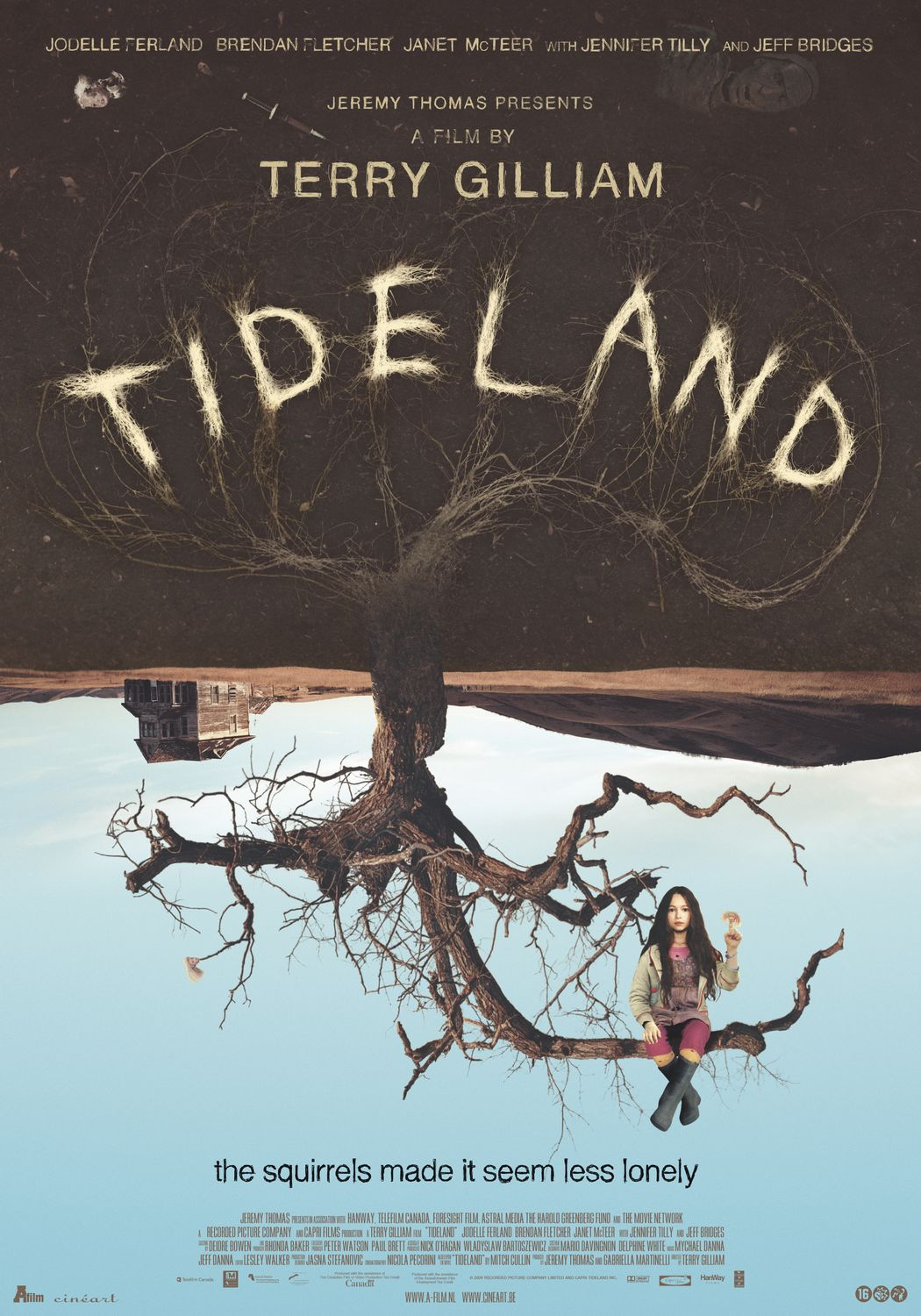 "poster for ""Tideland"" by Terry Gilliam(2005)"