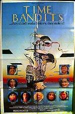 "poster for ""Time Bandits&quot"