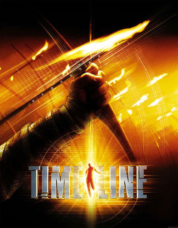 "poster for ""Timeline"" by Richard Donner (2003)"