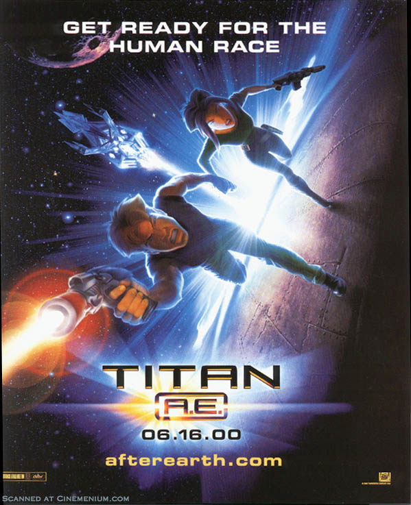 "poster for ""Titan A.E&quot"