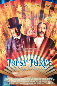 "poster for ""Topsy Turvy&quot"