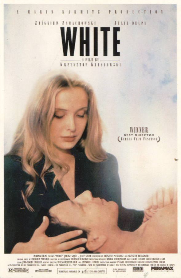 "poster for ""Trois Couleurs : Blanc (Three Colors: White)&quot"