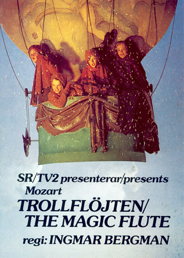 "poster for ""Trollflojten"" by Ingmar Bergman(1975)"