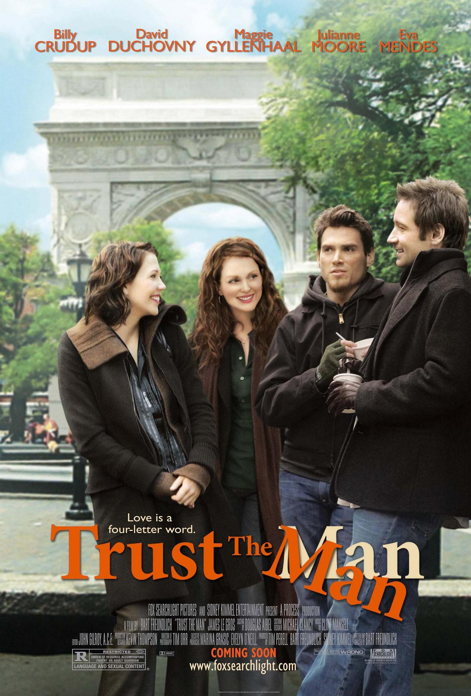"poster for ""Trust the Man"" by Bart Freundlich(2005)"