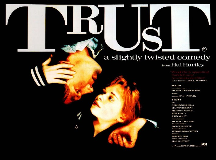 "poster for ""Trust"" by Hal Hartley(1990)"