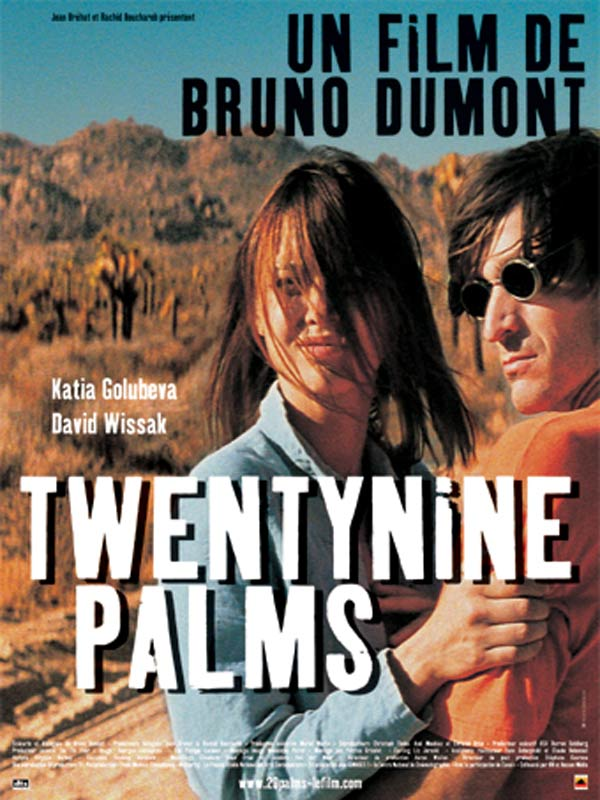"poster for ""Twentynine Palms"" by Bruno Dumont (2003)"