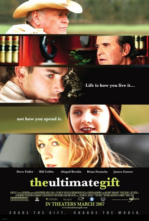 "poster for ""Ultimate Gift, The"" by Michael O. Sajbel (2006)"