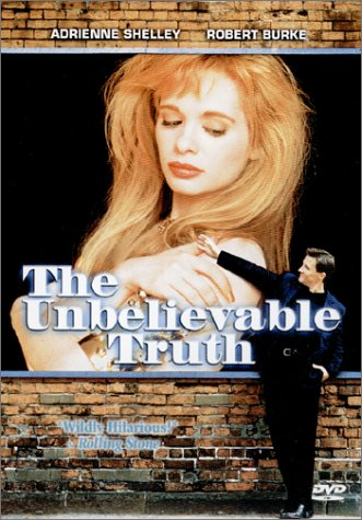 "poster for ""Unbelievable Truth, The"" by Hal Hartley(1989)"