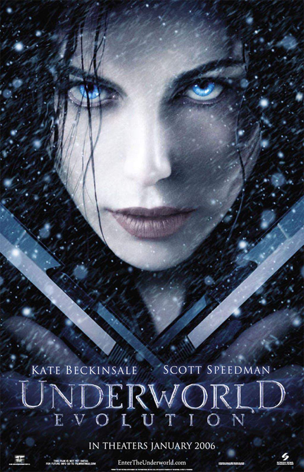 "poster for ""Underworld Evolution"" by Len Wiseman(2006)"