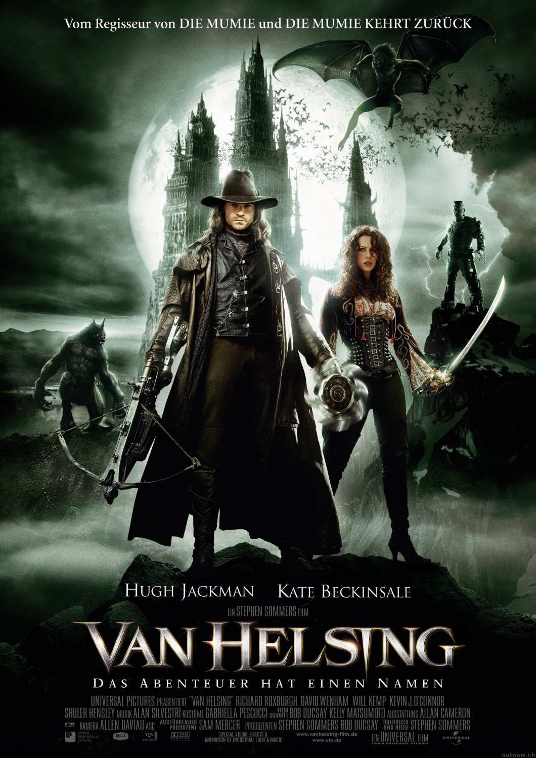 "poster for ""Van Helsing"" by Stephen Sommers (2004)"