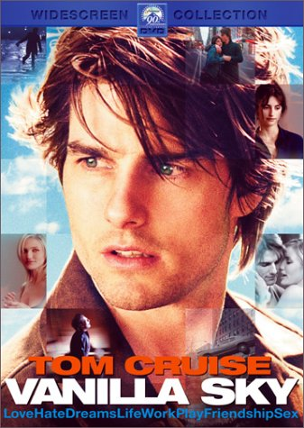 "poster for ""Vanilla Sky&quot"
