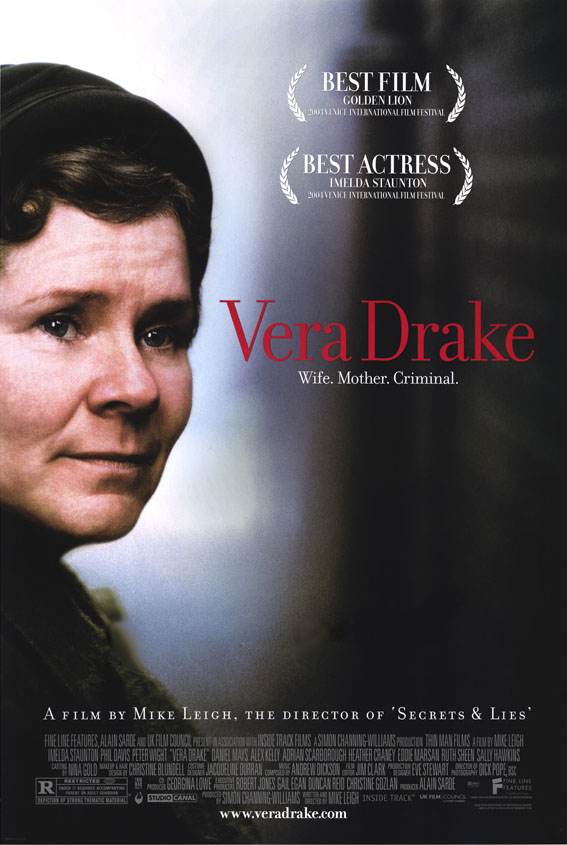 "poster for ""Vera Drake"" by Mike Leigh (2004)"