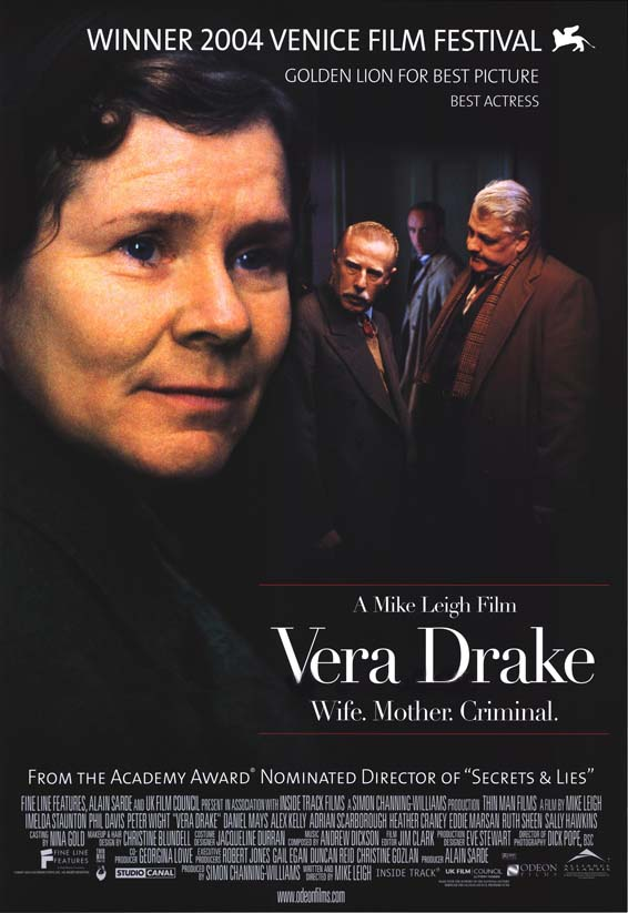 "poster for ""Vera Drake&quot"