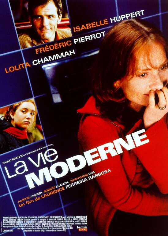 "poster for ""Vie Moderne, La"" by Laurence Ferreira Barbosa (2000)"