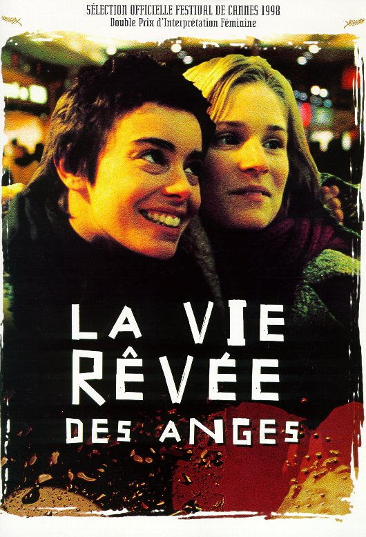 "poster for ""Vie r�v�e des anges, La"" by Erick Zonca(1998)"