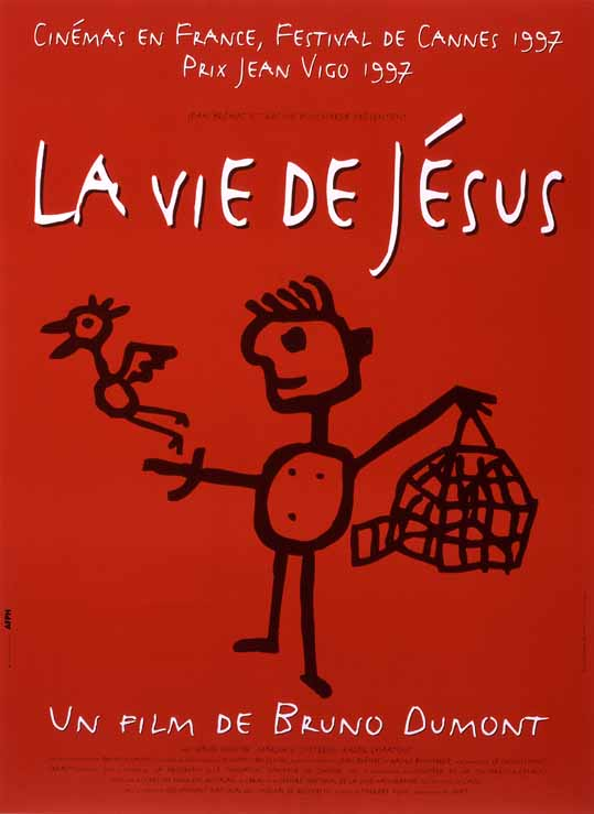"poster for ""Vie De Jesus, La"" by Bruno Dumont(1997)"