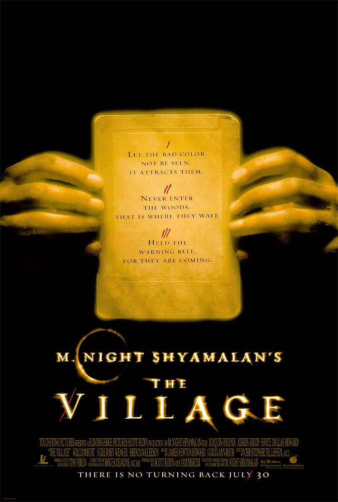 "poster for ""Village, The"" by M. Night Shyamalan (2004)"